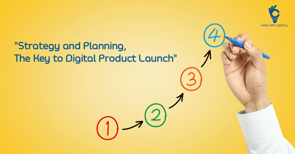 """Strategy and Planning – The Key to Digital Product Launch"""