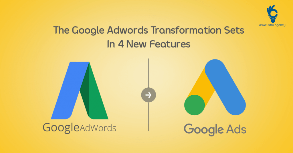 Google Adwords Becomes Google Ads and Brings 4 New Features Onboard